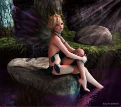 #Fairy By #Moonlight by Radthorne on d#eviantART #Fata