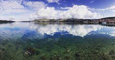WEBSTA @ michaeldunker - #love that #bay - #summer in #croatia / #adria #clear #water #cloudporn #bluesky