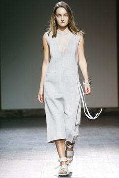 Matériel by Tiko Paksashvili Tbilisi Spring 2016 Fashion Show-spring suiting fabric inspiration
