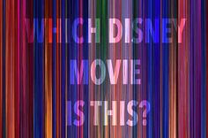 Can You Guess The Disney Movie By Looking At Every Frame At Once?