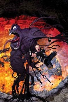 Venom: space knight by Ariel Olivetti