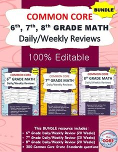 Glencoe common core algebra 1 lesson unit plans 12 pdf templates this bundle contains 300 questions of review specifically written for the common core math standards for fandeluxe Image collections