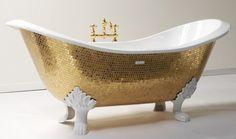 French gold bathtub.