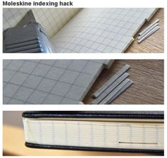 6 Awesome Moleskine Hacks
