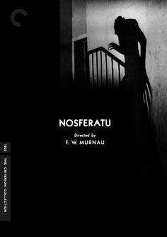 """Fake Criterion cover for """"Nosferatu"""" (1922) by officerserpico."""