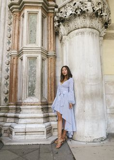 126f6d41108 aimee song of style caroline constas dress schutz stitched sandals venice Outfits  2016