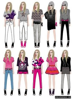 1000 Images About Coisas Para Usar On Pinterest Avril