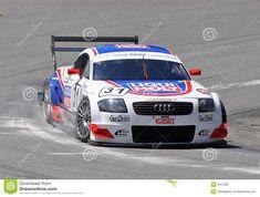 Race car Audi TT-R DTM Editorial Stock Image