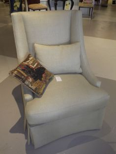 BAKER CLASSIC HIGH BACK CHAIR For more information visit www.CalAuctions.com