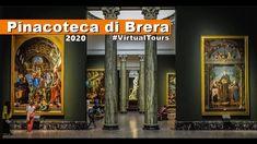 Virtual tours - Pinacoteca di Brera, Milano - 2020 - Brera Art Gallery Virtual Tour, Art Gallery, Tours, Youtube, Italia, Art Museum, Youtubers, Youtube Movies