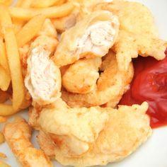 Csirkemell csíkok tempurában Snack Recipes, Snacks, Hungarian Recipes, Tempura, Poultry, Chicken, Meat, Ethnic Recipes, Food