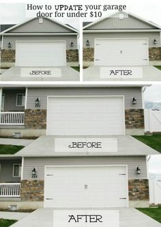 68 Best Garage Door Makeover Images Garage Door Makeover Carriage