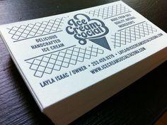 Ice Cream Social Logo By The Mahoney Design Team