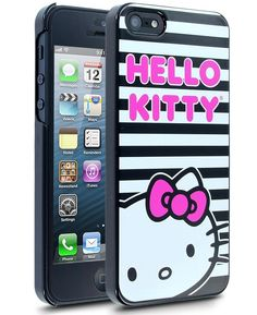 Striped Hello Kitty Iphone 5 case