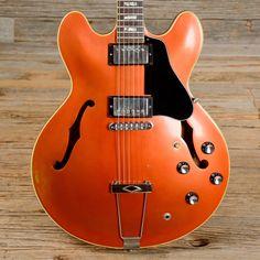 Gibson ES-335 Burgundy Mist Refin 1968 (s668)