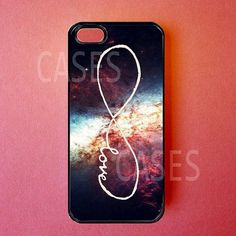 Infinity Iphone 5 Case - Iphone 5 Covers - Forever Love Galaxy - Rubber Iphone Cases - Cute Unique Designer Protective from Dziner Cases. Cool Cases, Cool Iphone Cases, Cute Phone Cases, Coque Iphone, Iphone 5c, Rubber Iphone Case, Friends Phone Case, All Iphones, Iphone Design
