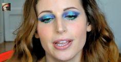 Clio make up blue!