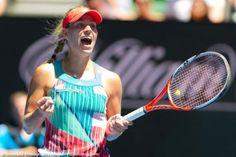 Angelique Kerber eliminates Victoria Azarenka #ausopen2016