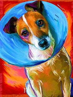 Great fun way to have a custom piece of art of your favorite pet!