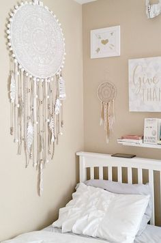 How to make a Giant Prosperity DIY Mandala Dream Catcher with Cutting Edge Stencils. Step by step tutorial, tips, and additional ideas. #cuttingedgestencils