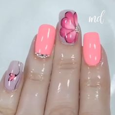 nails for kids cute unicorn ~ nails for kids . nails for kids cute . nails for kids easy . nails for kids cute short . nails for kids cute and easy . nails for kids gel . nails for kids acrylic . nails for kids cute unicorn Diy Nails Tutorial, Marble Nails Tutorial, Nail Tutorials, Gradient Nails Tutorial, Nail Art Designs Videos, Nail Art Videos, Toe Nails, Pink Nails, Leopard Nails