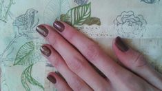 #nailstamp#brown