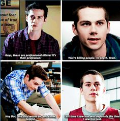 Find images and videos about teen wolf, stiles and tw on We Heart It - the app to get lost in what you love. Teen Wolf Quotes, Teen Wolf Funny, Teen Wolf Memes, Teen Wolf Boys, Teen Wolf Dylan, Teen Tv, Teen Wolf Cast, Dylan O'brien, Teen Wolf Ships