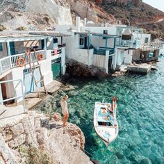 The Complete Milos, Greece Travel Guide Places to travel 2019 - Travel Photo Dream Vacations, Vacation Spots, Vacation Travel, Vacation Places, Summer Travel, Photos Voyages, Greece Travel, Greece Trip, Greece Vacation