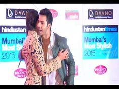 CHECKOUT Whom Varun Dhawan is hugging at Mumbai' Most Stylish Awards 2015.