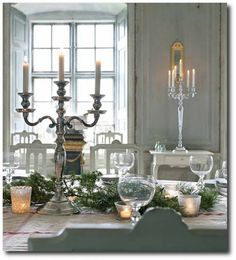Swedish Gustavian Interiors From The Affari Catalogue