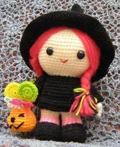 "Read ""Jazzy the Good Witch Amigurumi Crochet Pattern"" by Sayjai available from Rakuten Kobo. The Jazzy the Good Witch crochet pattern is written in English (using US crochet terms). Crochet Fall, Holiday Crochet, Cute Crochet, Crochet Crafts, Crochet Projects, Crochet Amigurumi, Amigurumi Patterns, Crochet Toys, Knitting Patterns"