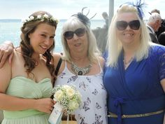 Mum and sister and me @eventsbyzest