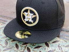 Custom Huston Astros 59Fifty Fitted Cap @ HAT CLUB