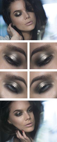 Todays look – Glisten - Lindas Sminkblogg amazing makeup artist