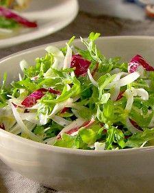 Arugula, Radicchio, and Fennel Salad