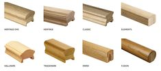 Best Hardwood Handrail Profiles Are Available In Any Wood 640 x 480