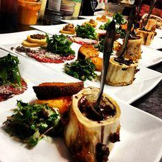 beef marrow salad - Google Search