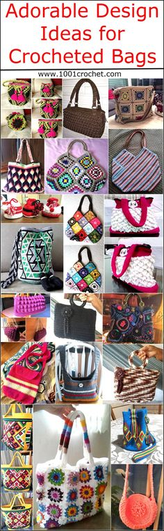 Bag is an accessory that is loved by most of the girls and they like to buy a new bag of a unique design with every new dress they get. It is sometimes hard to get the bag of the same colors as in the dress, so bag crocheting can solve the issue. It is not difficult to crochet bags and those who know the technique of knitting can crochet to impress others as every design can be created which comes in imagination.