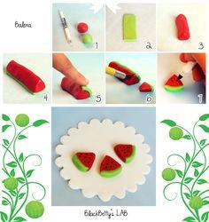 BlackBettysLab: mini watermelon slices