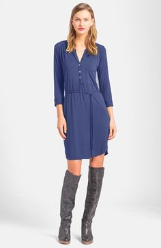 LAmade Belted Henley Dress available at #Nordstrom