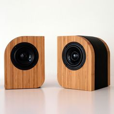 Pebble Black Passive Speakers by Serene Audio
