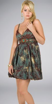 Interlude Iridescent Bubble Dresses    http://intercontinentalapparel.blogspot.com