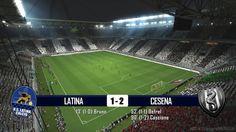 LATINA - CESENA 1-2 - SERIE B - 18-6-2014 - SCHEDA TECNICA