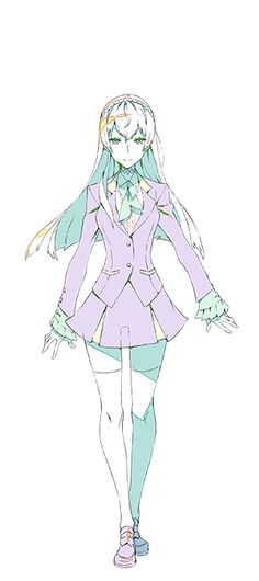 Kiznaiver | Noriko Sonozaki | Character Design | Anime | SailorMeowMeow