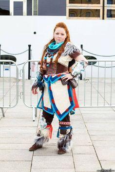 Cosplayer: Charlotte Luna; Photographer: Alucard Photography #horizonzerodawn #cosplay #aloy #mcmldn15