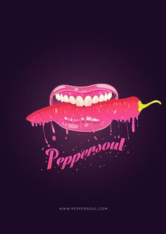 PEPPERSOUL by Ericka Coello, via Behance Behance, Neon Signs, Movie Posters, Color, Art, Behavior, Craft Art, Colour, Popcorn Posters