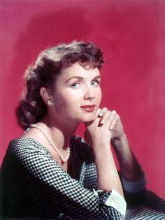 Debbie Reynolds -- Simply elegant. #modcloth #styleicon
