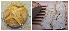 Egyszerű kovászos kenyér – Alaprecept – Betty hobbi konyhája Bread, Baking, Food, Brot, Bakken, Essen, Meals, Breads, Backen