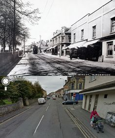 Bristol Then & Now - High Street, Kingswood