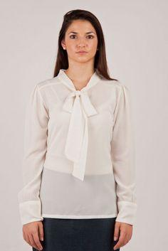 Soft silky office blouse...$49 only!  www.zankhna.com